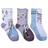 Disney's Frozen Enchanting Journey 3-Pack Socks