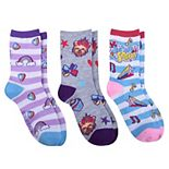 Jojo Siwa Superstars 3-Pack Socks
