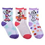 Disney's Minnie Mouse 3-Pack Socks