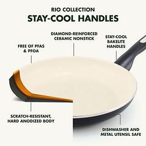 GreenPan Rio 12-in. Ceramic Nonstick Frypan