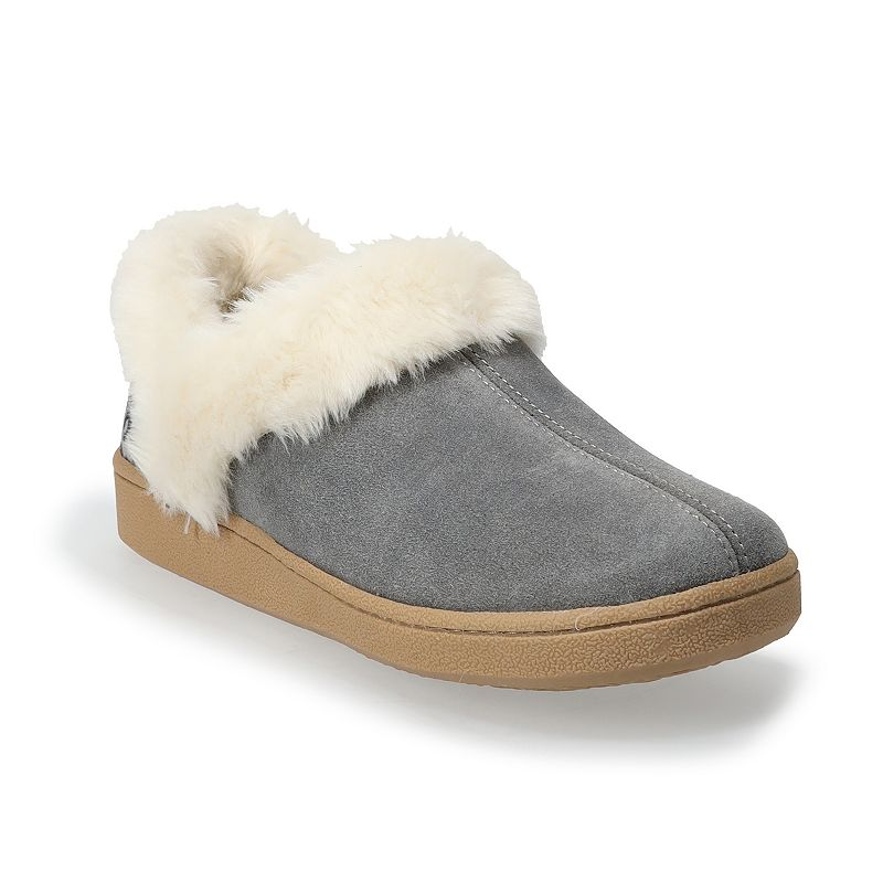 Clarks Classic Women's Slippers. Size: 8. Silver