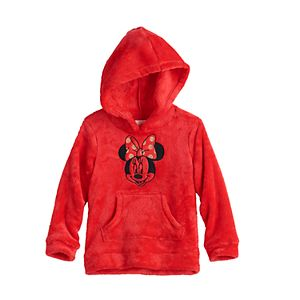 Disney's Minnie Mouse Baby Girl Plush Hoodie by Jumping Beans®