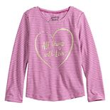 Toddler Girl Jumping Beans® Shirttail Hem Tee