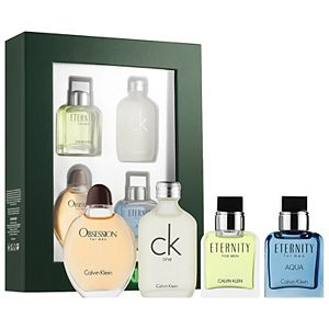 Calvin Klein Men's Mini Fragrance 4-Piece Gift Set - Eau de Toilette ($83 Value)