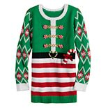 Girls 7-16 It's Our Time Elf Pullover Tunic