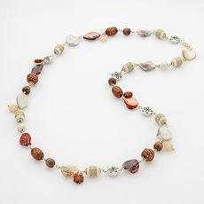 SONOMA life + style Gold-Tone Beaded Long Necklace