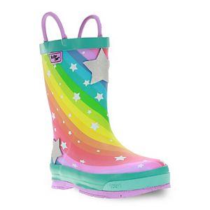 Western Chief Superstar Toddler Girls' Waterproof Rain Boots