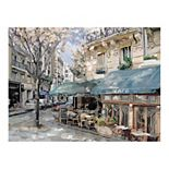 East Coast Graphic Bistro de Paris I Canvas Wall Art