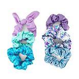 SO® Sparkle Mermaid Scrunchie Set
