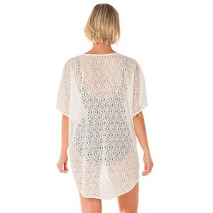 Women's PB Sport Tie-Front Lace Cover Up