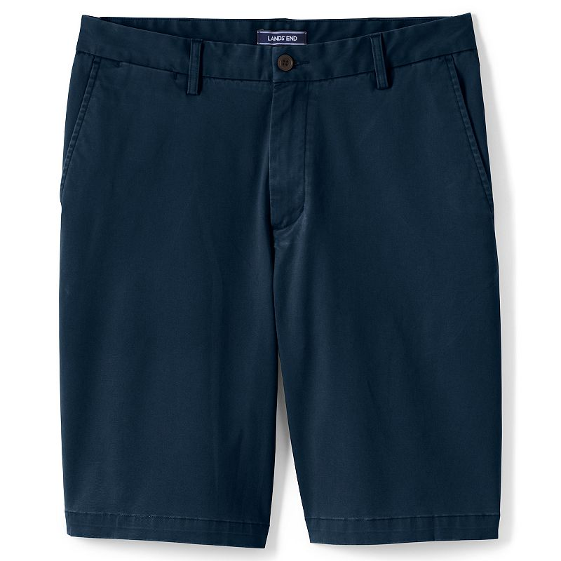 Men's Lands' End Traditional-Fit Comfort-First Knockabout 11-inch Chino Shorts, Size: 44, Blue