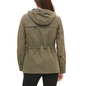 Women's Levi's® Twill Hooded Military-Style Jacket