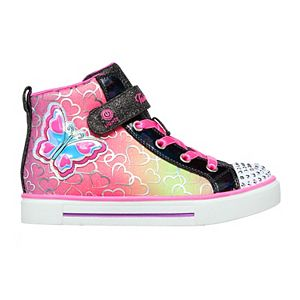 Skechers® Twinkle Toes Twinkle Sparks Magic-Tastic Girls' Light Up High Top Shoes