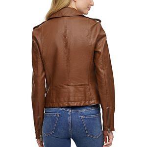 Women's Levi's® Faux-Leather Motorcycle Jacket