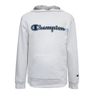 Boys 8-20 Champion Script Fleece Hoodie
