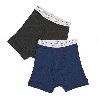 Jockey 2-pk. Solid Boxer Briefs