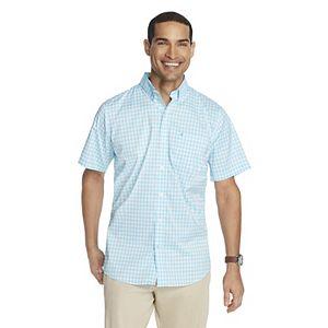 Men's IZOD Advantage Cool FX Regular-Fit Patterned Performance Button-Down Shirt