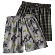 Jockey 2-pk. Rock and Roll Woven Boxers