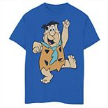 Boys 8-20 The Flintstones Big Solo Fred Graphic Tee