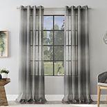 Scott Living Atlantic Ombre Open Weave Sheer Grommet 1-panel Window Curtain