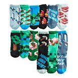 Boys Minecraft Earth 12 Days of Socks