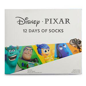 Disney / Pixar Boys 12 Days of Socks