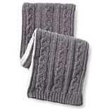 Womens Lands' End Chenille Winter Scarf