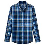 Men's Lands' End Tailored-Fit No-Iron Twill Button-Down Shirt