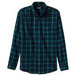 Men's Lands' End Tailored-Fit Flagship Flannel Shirt