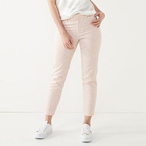 Women's Nine West Slim Ankle Pants