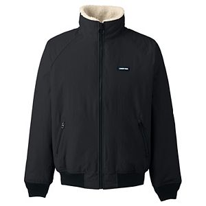 Big & Tall Lands' End Sherpa-Lined Classic Squall Jacket