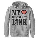 Boys 8-20 Nintendo Legend of Zelda My Heart Belongs To Link Graphic Hoodie