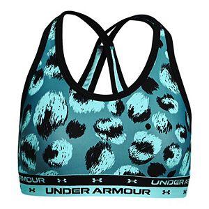Girls -16 Under Armour Crossback Printed Sports Bra