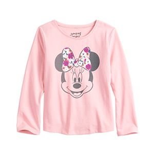 Disney's Minnie Mouse Toddler Girl Long Sleeve Shirttail Tee by Jumping Beans®