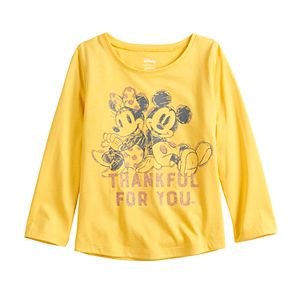 Disney's Minnie & Micky Mouse Toddler Girl Shirttail Tee by Jumping Beans®