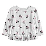 Disney's Minnie Mouse Baby Girl Knit Peplum Top by Jumping Beans®