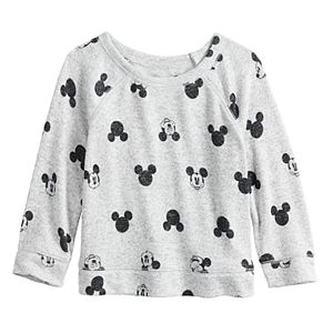 Disney's Mickey Mouse Baby Girl Knit Raglan Tee by Jumping Beans®
