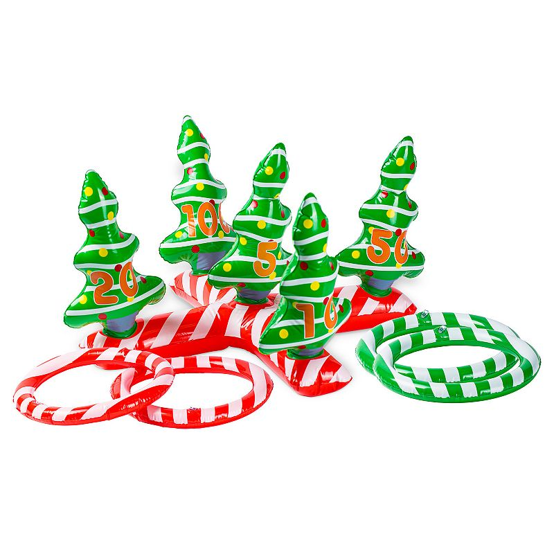 Christmas Tree Ring Toss Game, Multi