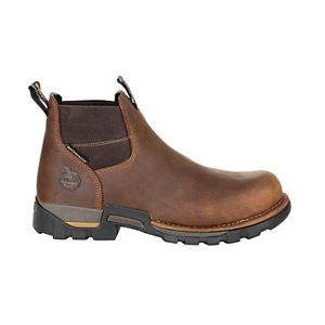 Georgia Boots Eagle One Men's Waterproof Chelsea Work Boots