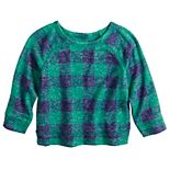 Baby Boy Jumping Beans® Cozy Knit Raglan Crew Top
