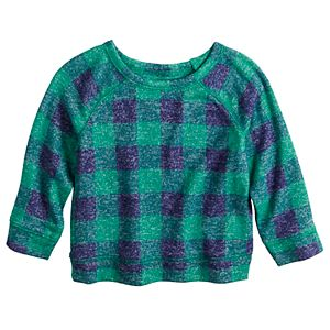 Baby Boy Jumping Beans® Cozy Knit Raglan Crew Top