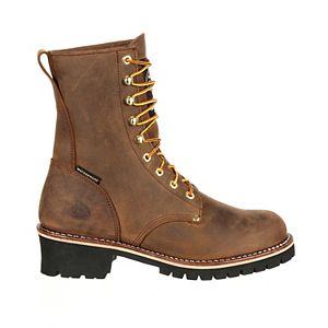 Georgia Boots Logger Insulated Men's Waterproof Steel Toe Work Boots