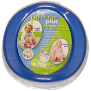 Kalencom 2-in-1 Potette Plus Travel Potty and Trainer Seat