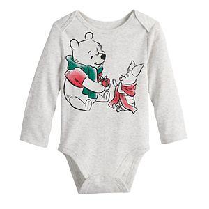 Disney's Winnie The Pooh Baby Boy Rib Bodysuit by Jumping Beans®