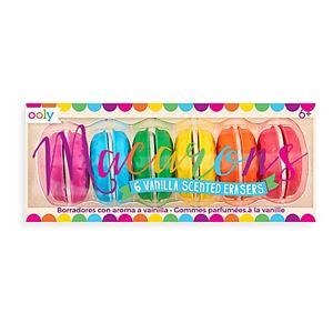 Ooly Macaron Scented Eraser Set