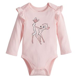 Disney's Bambi Baby Girl Lap Shoulder Bodysuit by Jumping Beans®