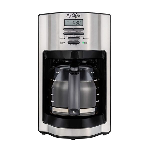 Mr. Coffee Rapid Brew 12-Cup Programmable Coffee Maker
