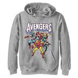 Boys 8-20 Marvel Avengers Classic Vintage Group Shot Graphic Hoodie