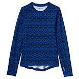 Toddler Boy Lands' End Thermal Base Layer Long Underwear Thermaskin Crew Neck Shirt