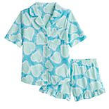 Girls 7-14 SO® Top & Shorts Pajama Set